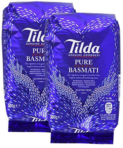Riso basmati originale Tilda Pure, 2 pezzi (2x500g)