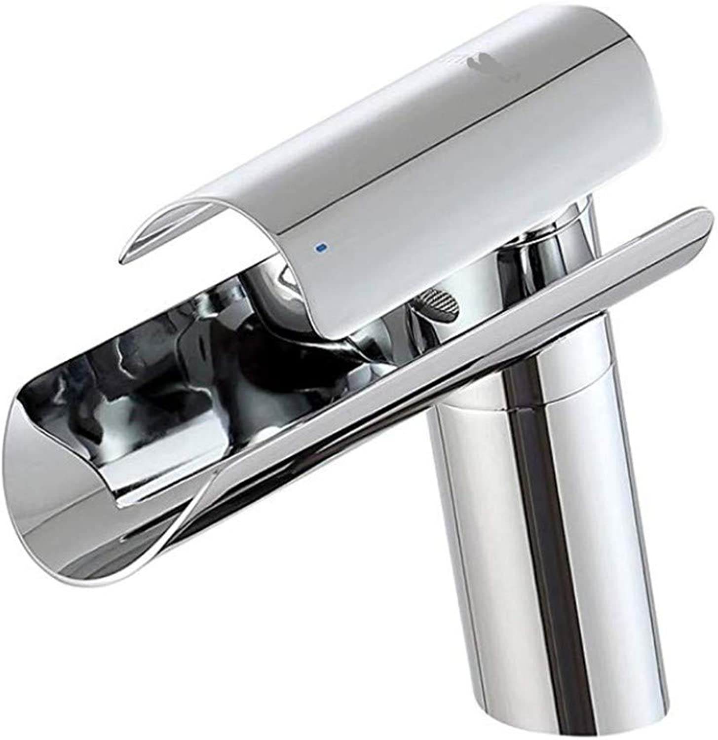 Pull Out The Pull Down Stainless Steelwaterfall Bathroom Faucet Stainless Steel Spout Wash Basin Mixer Tap