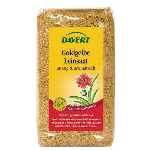 Davert Mühle, Goldgelbe Leinsaat, 250g