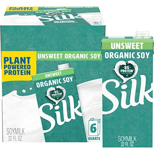 top rated Unsweetened silk milk, 32 oz sterile carton (6 packs) 2020