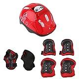 perfk Kit de 1pc Casque Protection de Vélo Skate Rollers Patin à Roulettes Avec...
