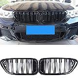 CHENGQIAN Reemplazo De La Parrilla, Reemplazo De La Parrilla del Deporte del Deporte del Riñón Delantero para BMW 6 Series GT G32 630I 640I 640I 620D 630D 640D XDRIVE