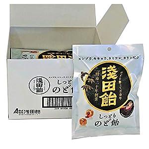 浅田飴 しっとりのど飴 61g ×6袋