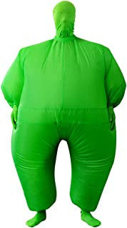 Adult Inflatable Full Body Jumpsuit Cosplay Costume Halloween Funny Fancy Dress Blow Up Party Toy
