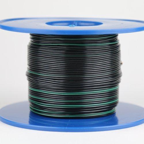 Kabel 0,5 qmm schwarz/grün