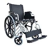 polironeshop delo carrozzina pieghevole sedia a rotelle in acciaio autospinta
