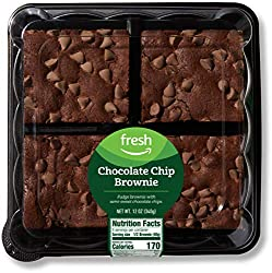 Fresh Brand – Chocolate Chip Brownie, 12 oz (4 ct)