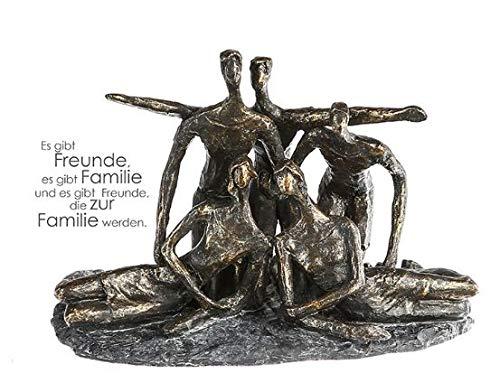 Casablanca Skulptur Gruppenfoto Poly,broncef.