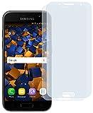 mumbi Schutzfolie kompatibel mit Samsung Galaxy A3 2017 Folie klar, Bildschirmschutzfolie (2X)
