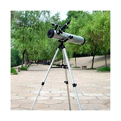 Bierglaks Telescopio HD refractivo Trpode Profesional astronmico Zoom Monocular Reflectante para observacin de Planetas espaciales