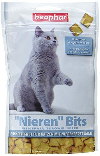 Nieren Bits für Katzen | Leckere Katzenleckerlis bei Niereninsuffizienz | Mit Lachs-Geschmack | 1 x 150 g