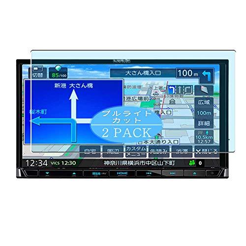 VacFun 2 Piezas Filtro Luz Azul Protector de Pantalla, compatible con KENWOOD MDV-D207BT 7', Screen Protector Película Protectora(Not Cristal Templado)