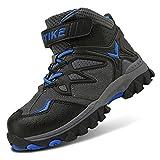 Boots Kids Hiking Shoes Boys Girls Winter Snow Sneaker Outdoor Walking Climbing Antiskid Steel Buckle Sole...