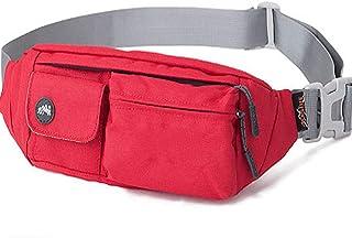 Water Resistant Waist Bag,Pack for Man Women,Carrying iPhone Bag,Gray Waist Bag