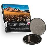 Cokin cv164–105A filtro polarizador C-PL Evo 105mm para soportes modulares Evo talla L/óptico con rosca de 105mm negro