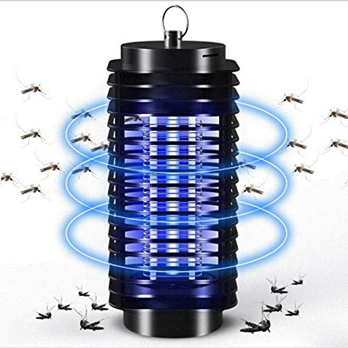 Mosquito Bug Zapper Trap Insect Killer - Indoor & Outdoor Insect Zapper Fly Trap - Fly Zapper Killer Safe & Non-Toxic - Silent & Effortless Operation pest Control - Electronic Insect Killer
