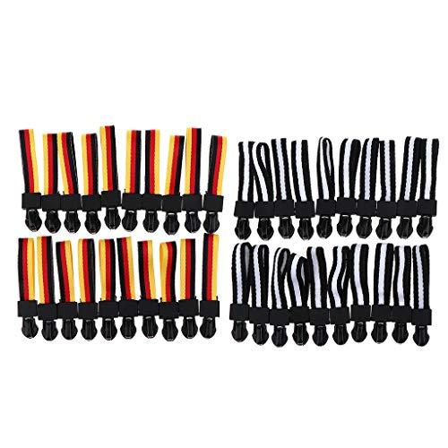 Perfeclan 40 Pcs Webbing Zipper Sliders Zipper Head Replacement Clothes Accessories