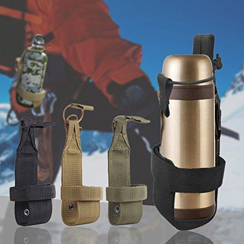 Comaie Cintura porta bottiglie Outdoor nylon minimalista caldaia dell' acqua del sacchetto leggero per ciclismo sport cinghia borsa campeggio trekking corsa da viaggio da appendere regolabile Packs