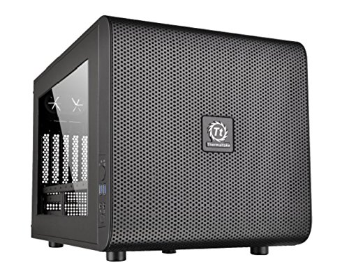 Thermaltake Core V21 - Micro chasis M-ATX, Color Negro