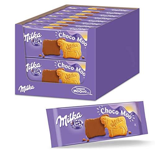 Milka Choco Moo 16 x 200g, Kekse mit zarter Alpenvollmilch Schokolade