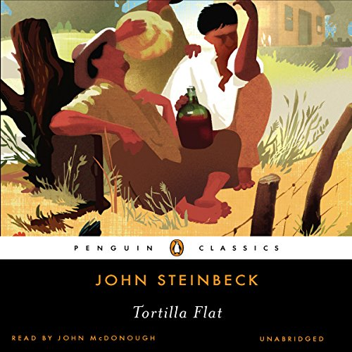 Tortilla Flat audiobook cover art