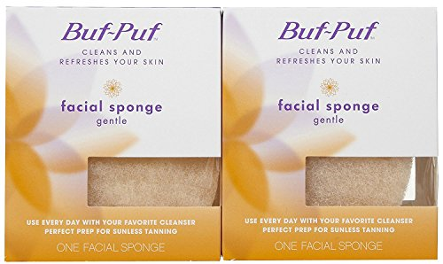 Buf-Puf Gentle Facial Sponge - 2 pk