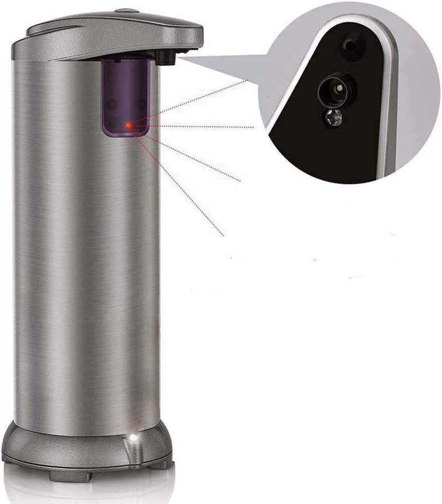 Home Automation Sensor Stainless Dispenser Liquid Los Credence Angeles Mall Automatic soap