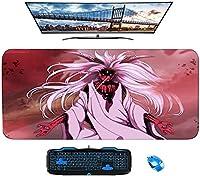 NARUTO-ナルト-マウスパッドゲーミングラージXXLナルトアニメマウスパッドゲーマービッグマウスマットコンピューターデスクマットXXLキーボードパッド-A_800X300X3mm