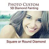 Souljewelry 5D DIY Personalizada Diamante Pintura de Punto Cruz Photo Privado...
