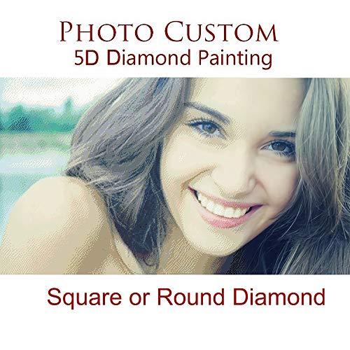 Souljewelry 5D DIY Personalizada Diamante Pintura de Punto Cruz Photo