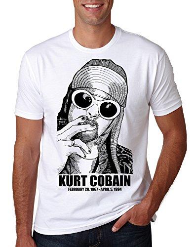 2020 Cobain Kurt Nirvana T Shirt Utero Mens Nevermind Smiley Face Womens Child Band Rock - S