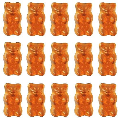 Haribo Goldbären Saft- Orange, sortenreine Gummibärchen, 1 Kg