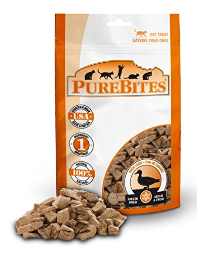 Purebites Duck For Cats, 1.05Oz / 30G - Value Size