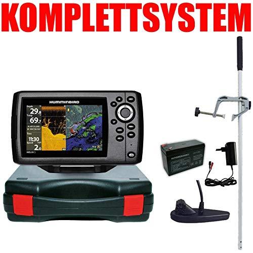 Humminbird Echolot GPS Portabel Master - Helix 5 Chirp GPS DI G2 Down Imaging
