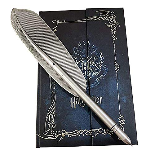 2020 Harry Potter Vintage Journal and Hogwarts Pen Set - Harry Potter Journal Book Diary Book/Hard Cover Note Book/Notepad/Agenda with Feather Quill Pen for Harry Potter Fans