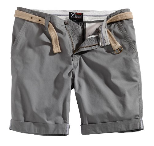 Surplus Raw Vintage Herren Chino Shorts, grau, XXL