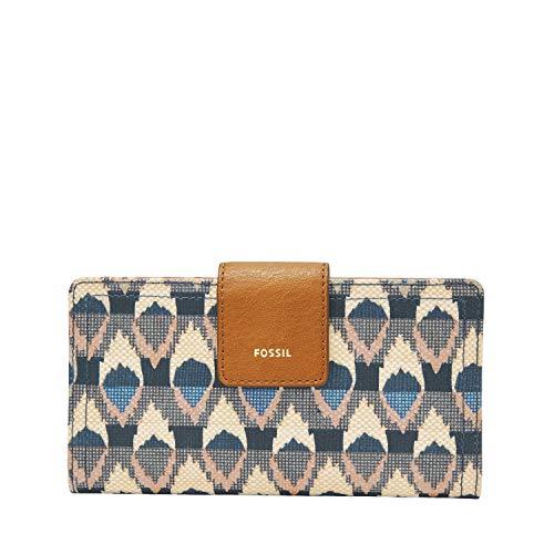 Fossil Women's Allie Leather Satchel Handbag, Caramel Nubuck