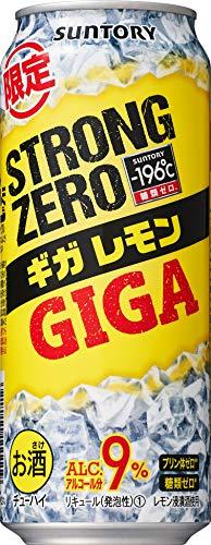 【2020年新発売】 -196℃ ストロングゼロ ギガレモン [ チューハイ 500ml×24本 ]