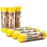 RELEVO 100% Reciclado Bolsas de Basura, Extra Resistentes 30 L,...