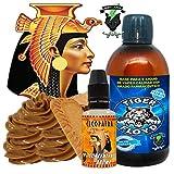 Kit Alquimia Vapeo |cleopatra Aroma Concentrado + Base Vapeo - 70VG/30PG - 100 ml | Sin Nicotina: 0mg | Para Vaper Cigarrillo Electronico | Sabor Flavour