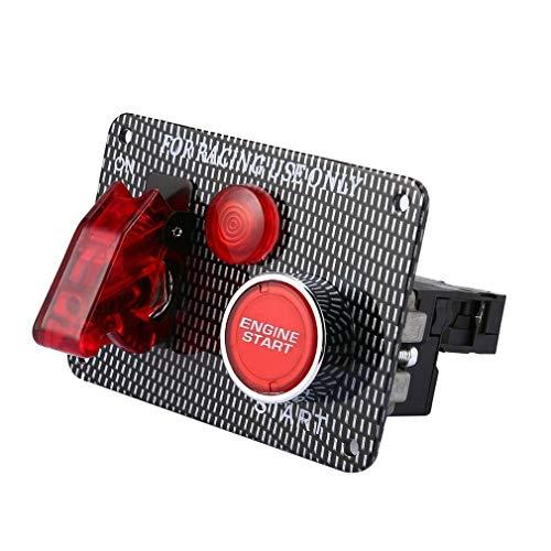 Reunion Interruptor Coche 12V de Encendido del Motor Panel de conmutación de...