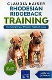 Rhodesian Ridgeback Training: Dog Training for your Rhodesian Ridgeback puppy