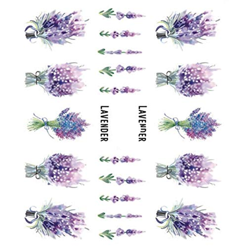 CAOLATOR.5 Feuilles Autocollants pour Ongles Nail Art Set Designs Cute Nail Art Ongles Stencil Accessories Autocollants Ongle Mode Design