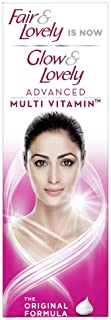 Glow & Lovely Advanced Multivitamin Face Cream, For Daily Use, Fades Dark Spots, Lighten Skin For Glowing, Matte Finish, 50 g