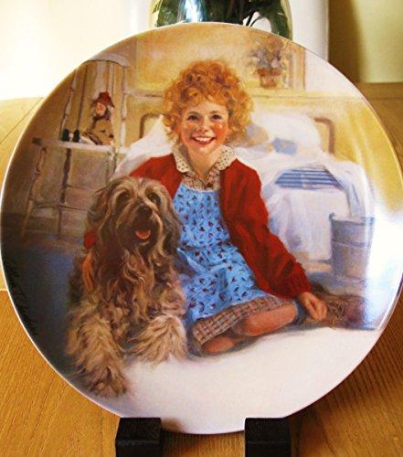 Bradex C1982Bradford Exchange Annie Collector Teller Annie und Sandy