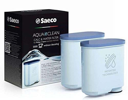 Saeco CA6903/01 AquaClean Kalk und Wasserfilter (für Saeco und Philips Kaffeevollautomaten, doppelpack)