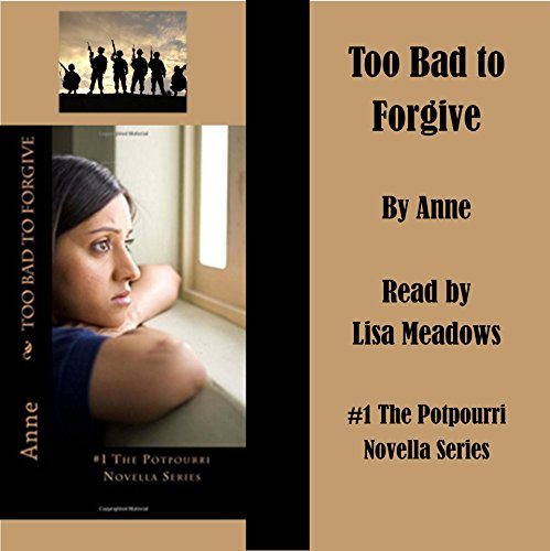 Too Bad to Forgive audiobook cover art