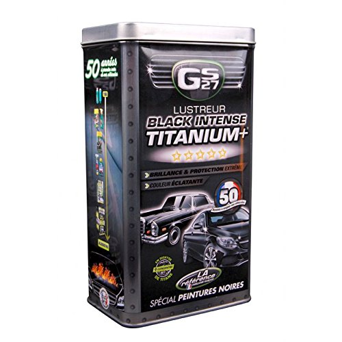 GS27 Lustreur Titanium Black Intense Kit nbsp;CL160250