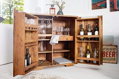 Casa Padrino Bar - Whiskey Schrankbar Antik Stil - Barschrank