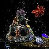 Decoración durable del acuario, mejor decoración decorativa del acuario de la decoración del acuario hueco del tronco R Esin hecho